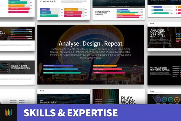 Skills Expertise Resume Powerpoint Template For Business Pitch Deck Professional Creative Powerpoint Icons 002