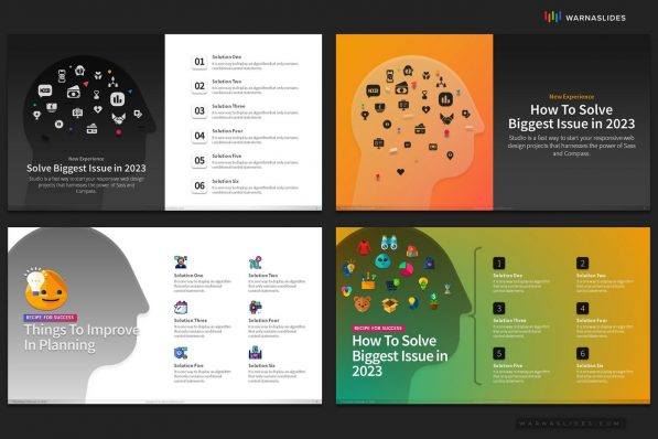 Solution Ideas Opportunity Powerpoint Template For Business Pitch Deck Professional Creative Powerpoint Icons 006