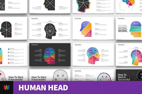 Human Head Ideas Brainstorm Powerpoint Template For Business Pitch Deck Professional Creative Powerpoint Icons 001